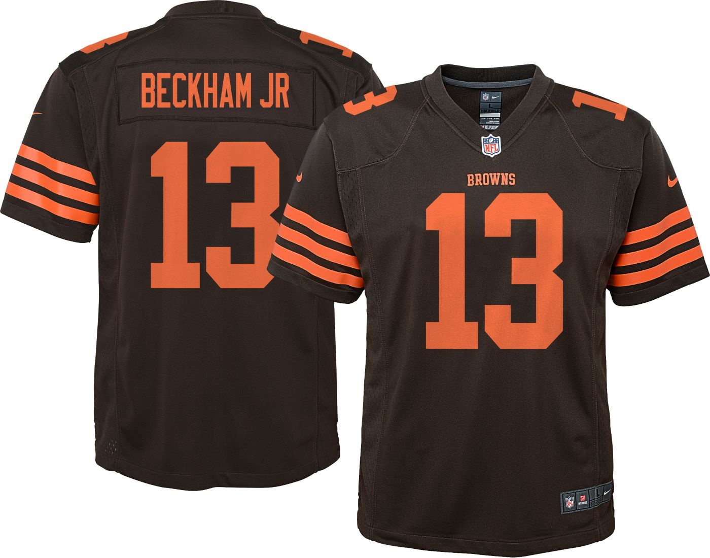 Nike Youth Color Rush Game Jersey Cleveland Browns Odell Beckham Jr. #13