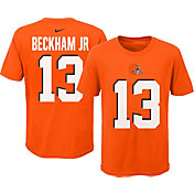 a6e2e263 Product Image · Nike Youth Cleveland Browns Odell Beckham Jr. #13 Pride  Orange T-Shirt
