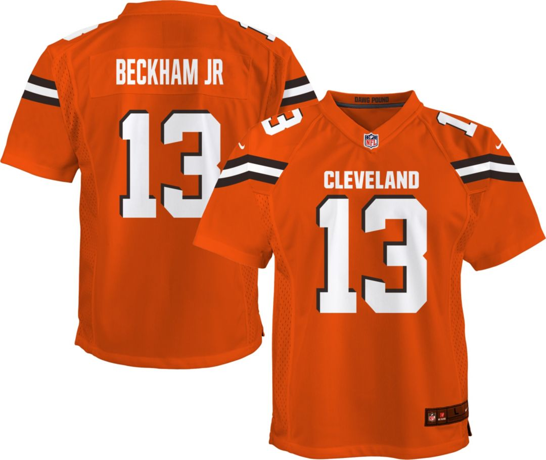 new product ef441 83331 Nike Youth Alternate Game Jersey Cleveland Browns Odell Beckham Jr. #13