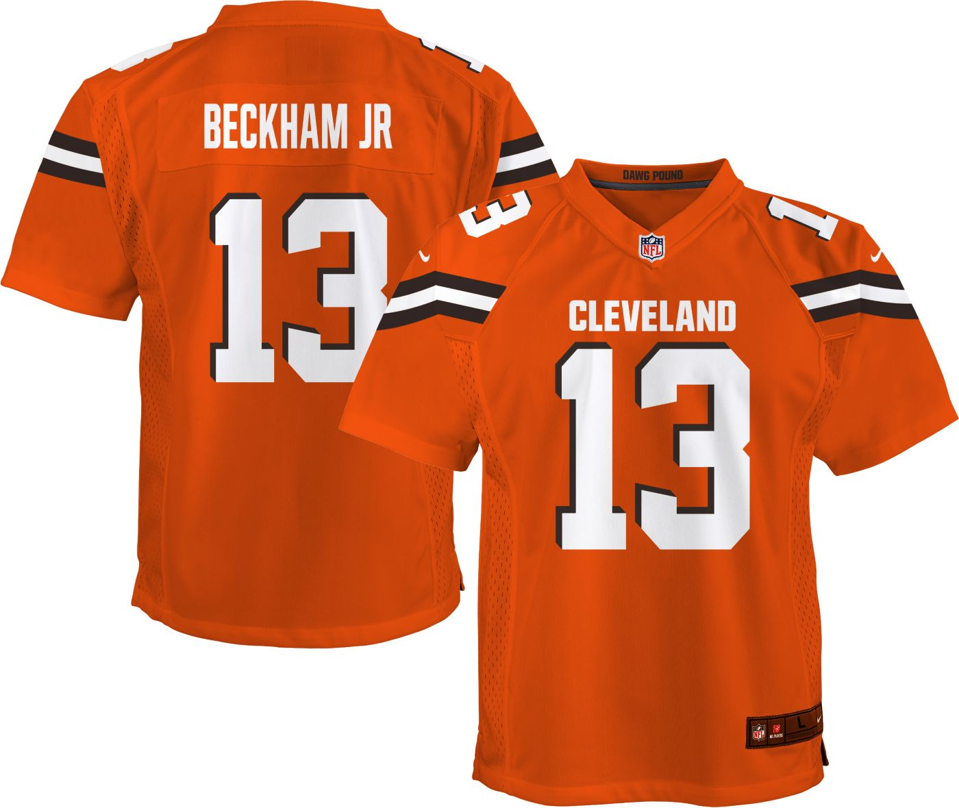 Nike Youth Alternate Game Jersey Cleveland Browns Odell Beckham Jr. #13