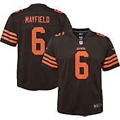 Nike Youth Color Rush Game Jersey Cleveland Browns Baker Mayfield #6