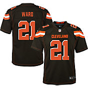 Nike Youth Home Game Jersey Cleveland Browns Denzel Ward #21