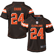 Nike Boys' Home Game Jersey Cleveland Browns Nick Chubb #24