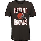 Nike Youth Cleveland Browns Sideline Property Of Brown T-Shirt