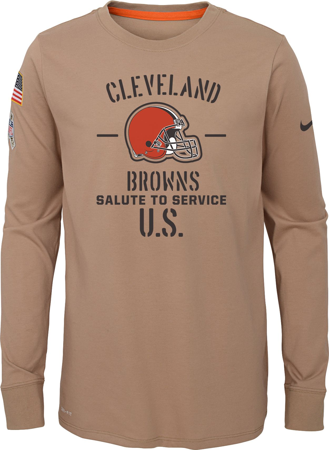 nike browns shirt