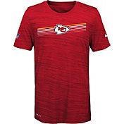 Nike Youth Kansas City Chiefs Legend Velocity Performance Red T-Shirt