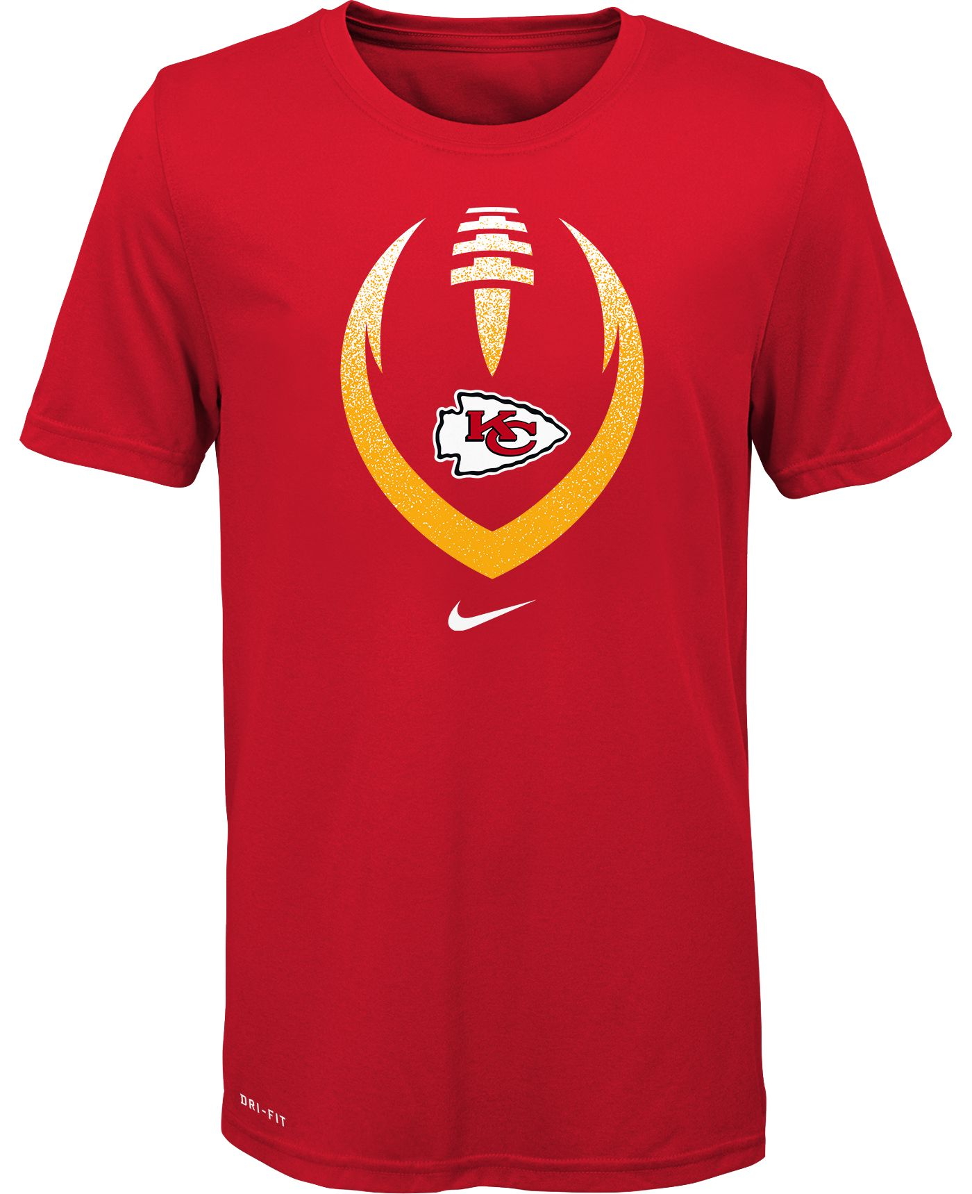 Nike Youth Kansas City Chiefs Icon Performance Red T-Shirt
