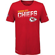 Nike Youth Kansas City Chiefs Sideline Legend Performance Red T-Shirt