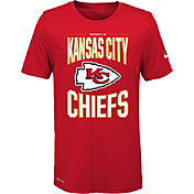 Nike Youth Kansas City Chiefs Sideline Property Of Red T-Shirt