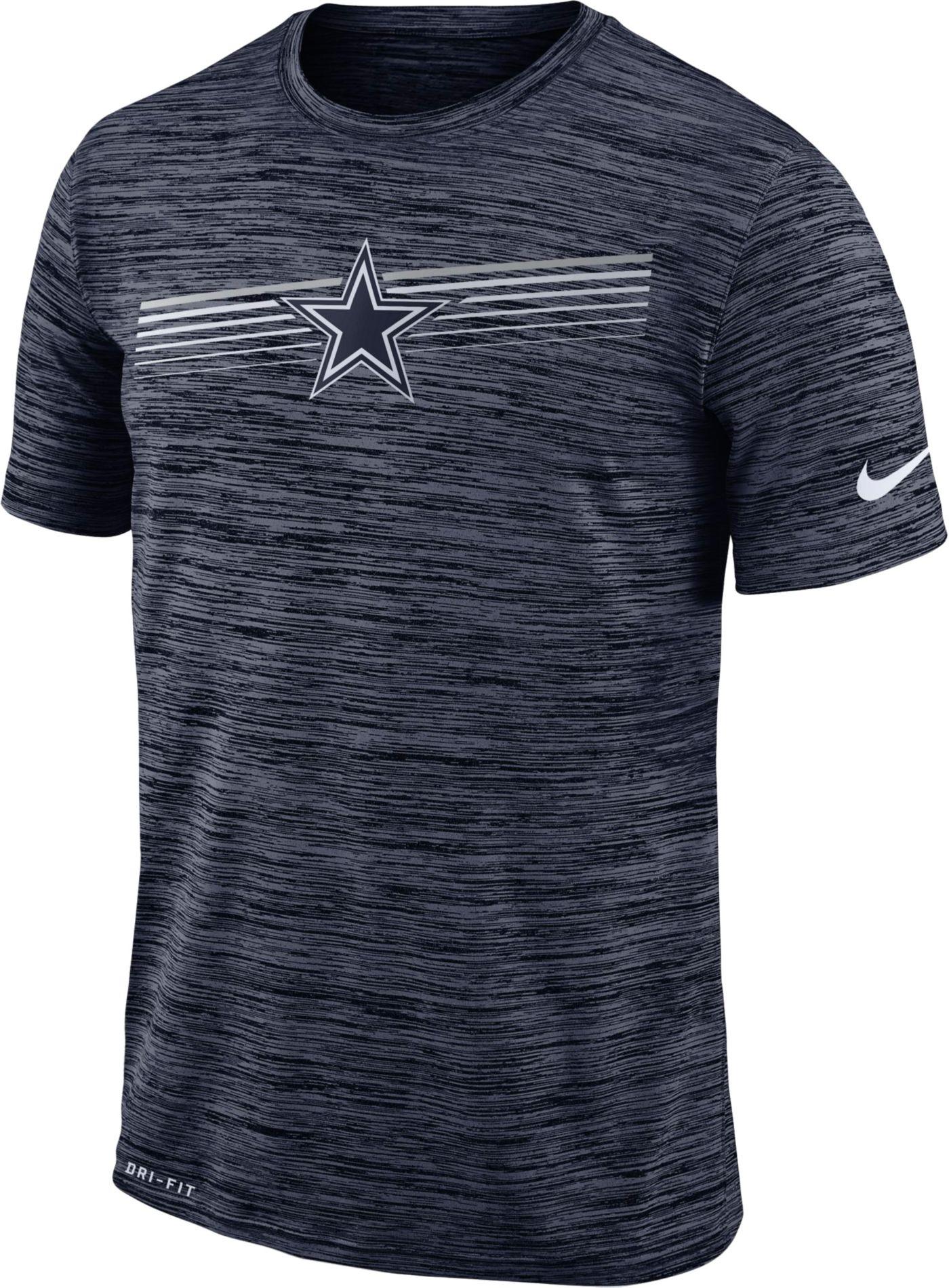 Nike Youth Dallas Cowboys Legend Velocity Performance Navy T-Shirt