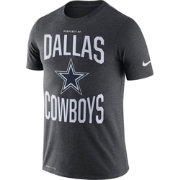 Nike Youth Dallas Cowboys Sideline 'Property Of' Charcoal T-Shirt