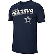 Nike Youth Dallas Cowboys Sideline Legend Performance Navy T-Shirt