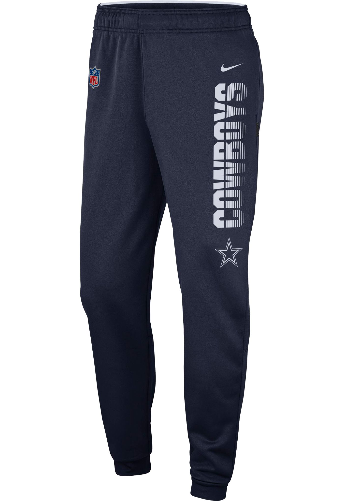 Nike Youth Dallas Cowboys Sideline Therma-FIT Performance Navy Pants