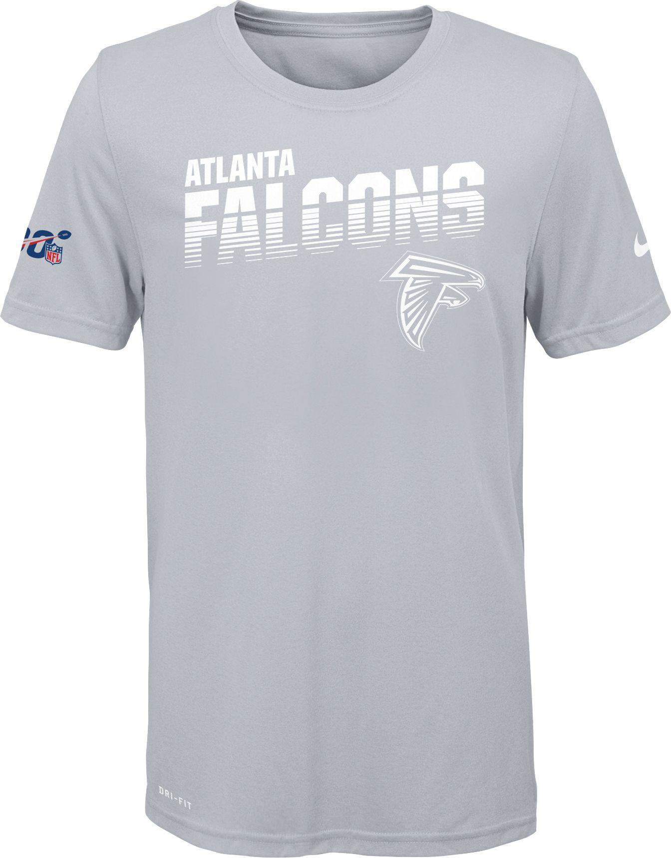 white atlanta falcons shirt