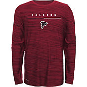 Nike Youth Atlanta Falcons Sideline Legend Velocity Red Long Sleeve Shirt
