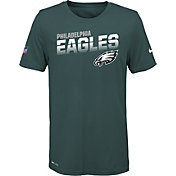 Nike Youth Philadelphia Eagles Sideline Legend Performance Blue T-Shirt