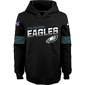 Nike Youth Philadelphia Eagles 100th Sideline Therma-FIT Green Pullover Hoodie