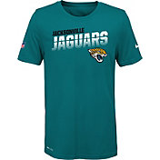 Nike Youth Jacksonville Jaguars Sideline Legend Performance Red T-Shirt