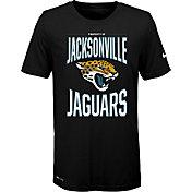 Nike Youth Jacksonville Jaguars Sideline Property Of Black T-Shirt