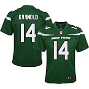 Nike Youth Home Game Jersey New York Jets Sam Darnold #14