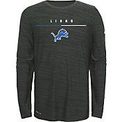Nike Youth Detroit Lions Sideline Legend Velocity Grey Long Sleeve Shirt