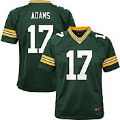 Nike Youth Green Bay Packers Davante Adams #17 Green Game Jersey