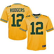 Nike Youth Alternate Legend Jersey Green Bay Packers Aaron Rodgers #12