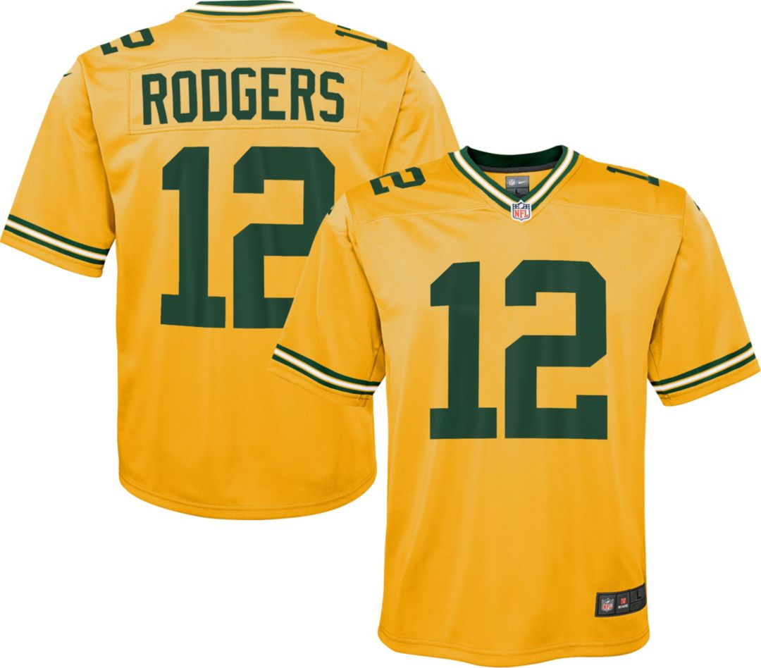 san francisco de62a e3c3e Nike Youth Alternate Legend Jersey Green Bay Packers Aaron Rodgers #12