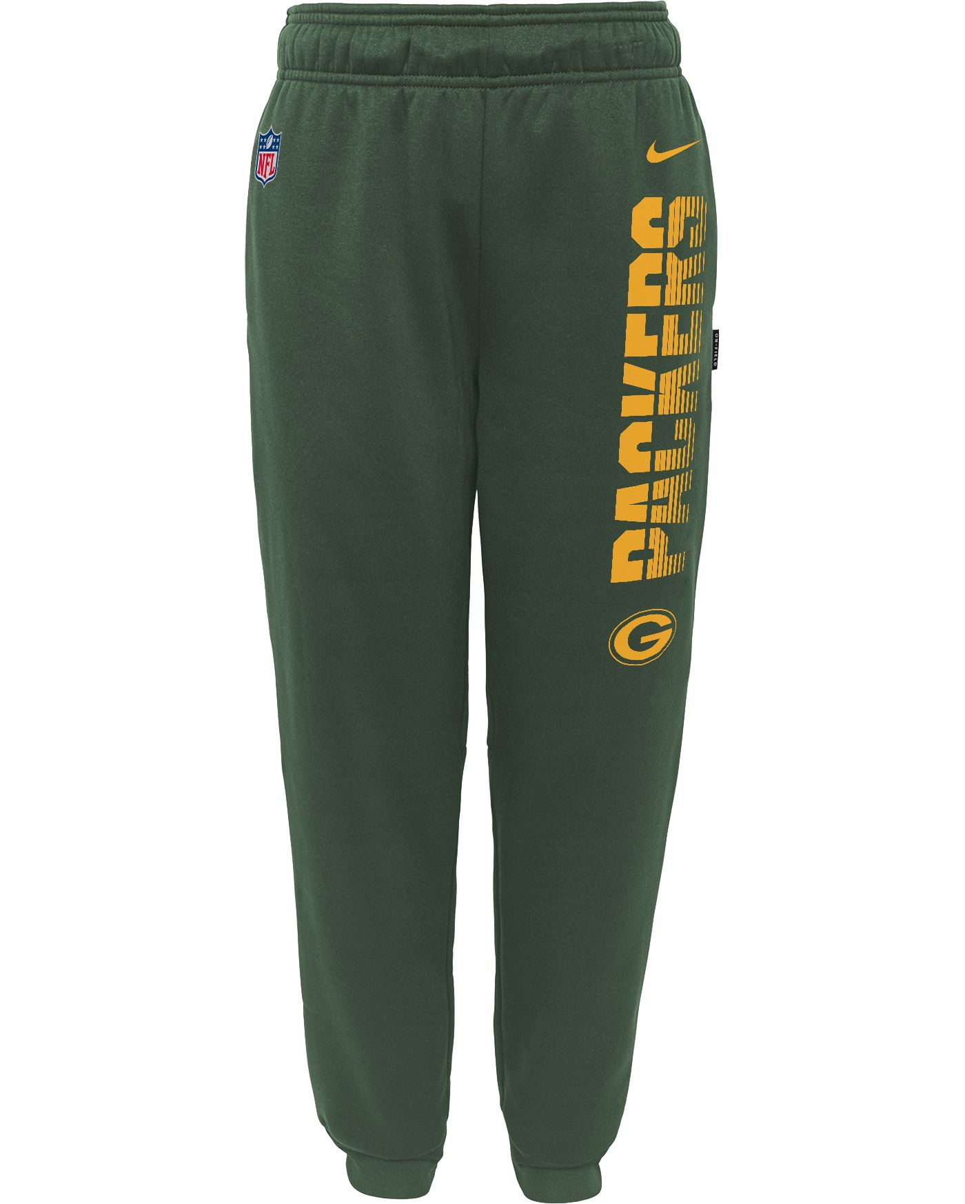 Nike Youth Green Bay Packers Sideline Therma-FIT Performance Green Pants