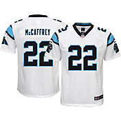 Nike Youth Away Game Jersey Carolina Panthers Christian McCaffrey #22