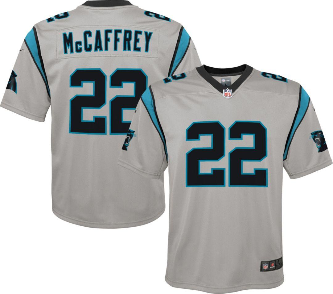 buy popular 1dd47 46952 Nike Youth Alternate Legend Jersey Carolina Panthers Christian McCaffrey #22