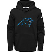 Nike Youth Carolina Panthers Logo Essential Black Hoodie