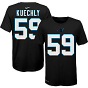 Nike Youth Carolina Panthers Luke Kuechly #59 Logo Black T-Shirt