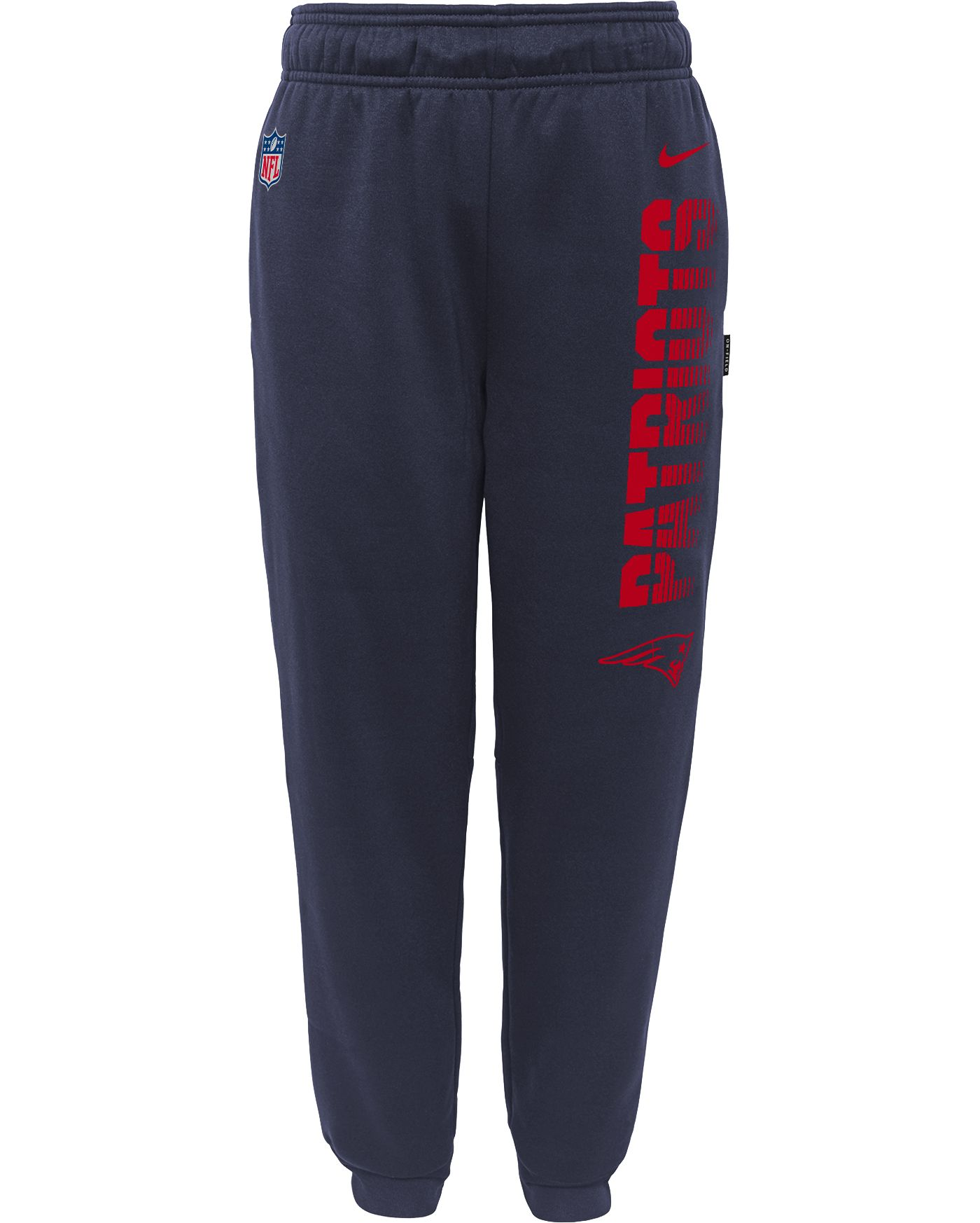 Nike Youth New England Patriots Sideline Therma-FIT Performance Navy Pants