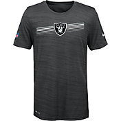 Nike Youth Oakland Raiders Legend Velocity Performance Black T-Shirt
