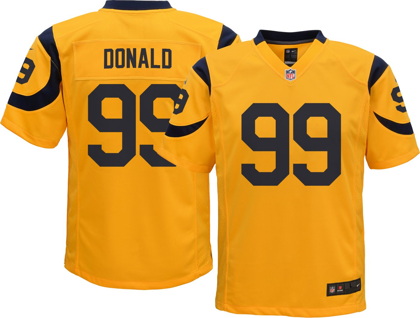 Nike Youth Color Rush Game Jersey Los Angeles Rams Aaron Donald #99