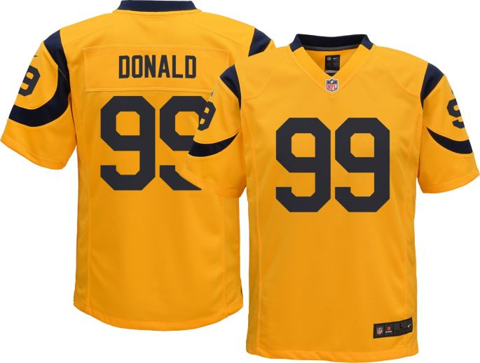 official photos 88c91 caf1e Nike Youth Color Rush Game Jersey Los Angeles Rams Aaron Donald #99