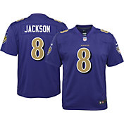 Nike Youth Color Rush Game Jersey Baltimore Ravens Lamar Jackson #8