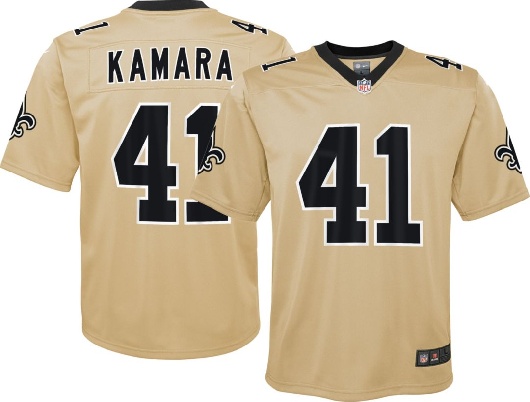 best sneakers d6ca6 59ffb Nike Youth Alternate Legend Jersey New Orleans Saints Alvin Kamara #41