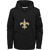 Nike Youth New Orleans Saints Logo Black Hoodie