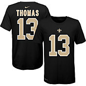 Nike Youth New Orleans Saints Michael Thomas #13 Logo Black T-Shirt