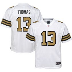 Nike Youth New Orleans Saints Michael Thomas #13 White Game Jersey ...