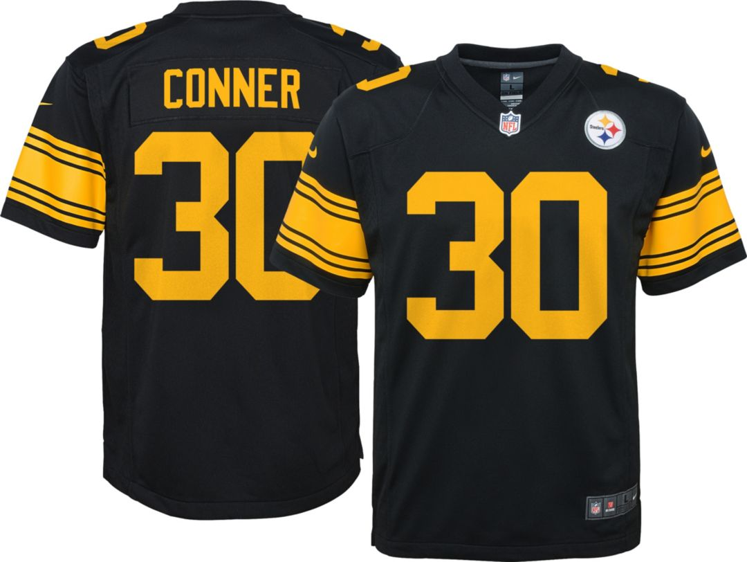 timeless design b001d e7b93 Nike Youth Color Rush Game Jersey Pittsburgh Steelers James Conner #30
