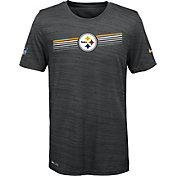 Nike Youth Pittsburgh Steelers Legend Velocity Performance Black T-Shirt