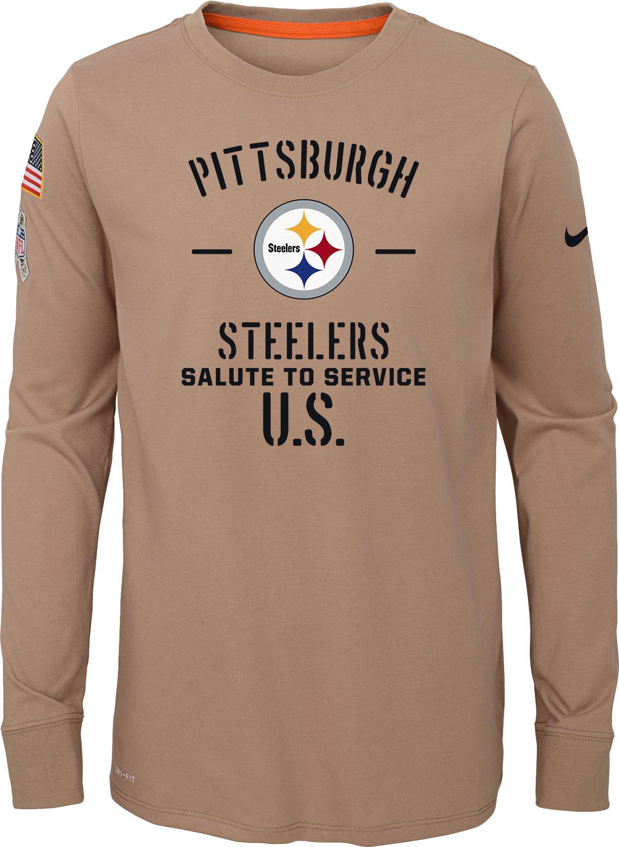 pittsburgh steelers long sleeve shirt