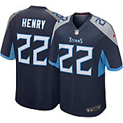 Nike Youth Tennessee Titans Derrick Henry #22 Navy Game Jersey