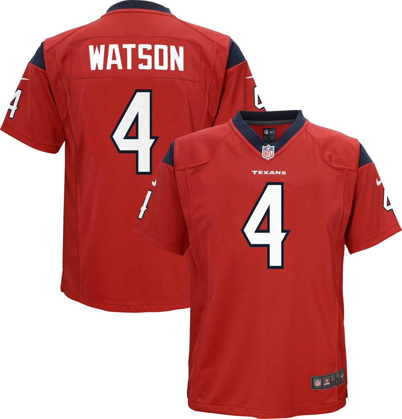 Nike Youth Alternate Game Jersey Houston Texans Deshaun Watson #4