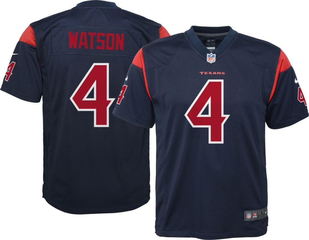 timeless design d7472 71c39 Nike Youth Color Rush Game Jersey Houston Texans Deshaun Watson #4