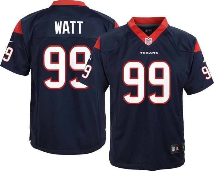 best service e0f89 1bad2 Nike Youth Alternate Game Jersey Houston Texans J.J. Watt #99
