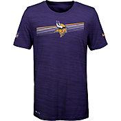 Nike Youth Minnesota Vikings Legend Velocity Performance Purple T-Shirt